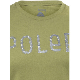 POLER Furry Font Chemise manches courtes Homme, mossy
